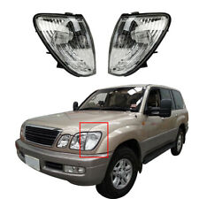 Left&Right Side Turn Signal Lamp Corner Parking Lights For Lexus LX470 1998-2007