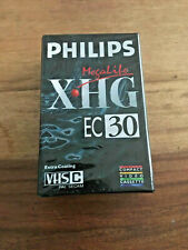 Phillips Megalife XHG EC30 VHSC Compact Video Cassette
