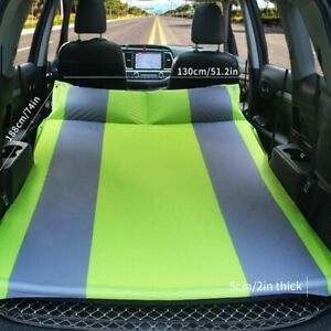 Vehicle-mounted automatic inflatable travel mattress for off-road vehicles
