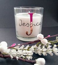Personalised candle / gifts / birthday / bridesmaid / scented