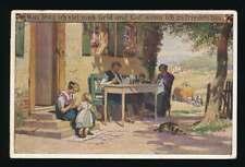 AK Volksliederkarte, Was frag ich nach viel Geld + Gut..., gelaufen 1922 (62743)