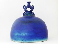 Raija Tuumi, Jusapot (attrib.) - Large unique object in cobolt blue glaze ARABIA