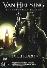 VAN HELSING - THE LONDON ASSIGNMENT - Animated - NEW & SEALED - Region 2 & 4