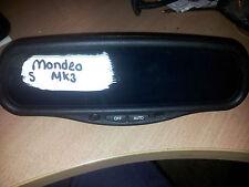 FORD MONDEO GHIA MK3 REAR VIEW MIRROR ( AUTO DIMMER TYPE ) E11 015602