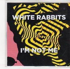 (DL352) White Rabbits, I'm Not Me - 2012 DJ CD