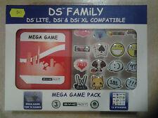 22162//MEGA GAME PACK ROUGE POUR RANGER 16 JEUX DS/LITE/XL/DSI NEUF