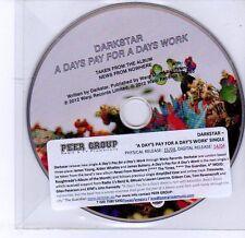 (DV237) Darkstar, A Days Pay For A Days Work - DJ CD