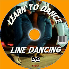 BEGINNERS GUIDE TO LINE DANCING LEARN LINE DANCE DVD & CD EASY TO FOLLOW NEW