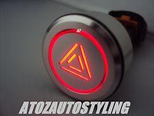 Savage Latching Push Button HAZARD Switch Kit Car  <<NEW>>