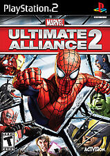 Marvel: Ultimate Alliance 2 (Sony PlayStation 2, 2009)