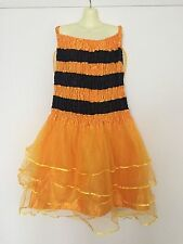 ADULT Plus Size 20 22 24 Bumble Bee 4 Yellow Layer Fairy Fancy Dress Costume