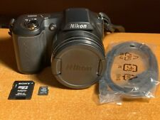 Nikon COOLPIX L100 10.0MP Digital Camera - Black + SD Card