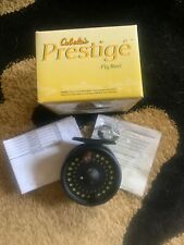 Cabela's Prestige Fly Reel 5/6Wt- New With Backing And Scientific Angler Line