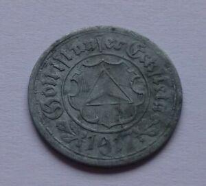Notgeld: Germany, Frankenthal 10 Pfennig 1917, War money, Emergency coin