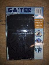 Gaiter Brand Pair of Boot Gaiters for Hiking, Snowshoeing, Black NEW 657282 S/M