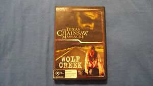 The Texas Chainsaw Massacre/Wolf Creek - DVD - R4 - Free Tracking