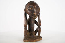 "Great Miniature Luba Statue 8"" - DR Congo - African Art"