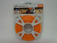 "Genuine Stihl 2.4mm / .095"" Strimmer Wire / Cord Nylon Line"