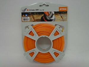 "Genuine Stihl 2.4mm / .095"" Strimmer Wire / Cord Nylon Line"