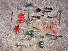 LJN Thundercats Weapons Lot Vintage 1980's Huge Mixed  Lot Of 33 Accessories