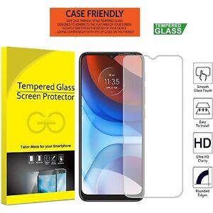 TEMPERED GLASS Screen Protectors Cover for Motorola Moto E7i Power