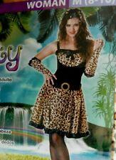 Leopard costume, Ladies size M (8-10)