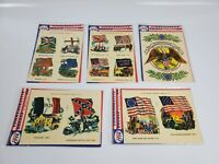 Vintage 1968 Bicentennial Commemorative Decals New
