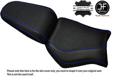 GRIP CARBON ROYAL BLUE ST CUSTOM FITS YAMAHA MT 03 06-14 FRONT + REAR SEAT COVER