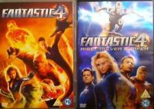 FANTASTIC 4 (Four) & SILVER SURFER (1,2 One,Two) Chris Evans Marvel DVD *EXC*