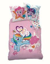 My Little Pony Einhorn Bettwäsche 135/200 + 80/80 cm 100% Baumwolle
