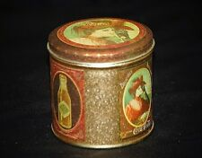 Vintage Style Advertising Ad Drink Coca Cola Coke Litho Tin Can Container Lid a