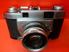 MINOLTA SUPER 'A' / CHIYOKO SUPER ROKKOR 5cm 1:2 lens.for Collector PARTS/REPAIR