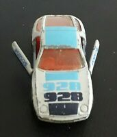 Matchbox Superfast no 59 Porsche 928 with opening doors..1979 vintage classic