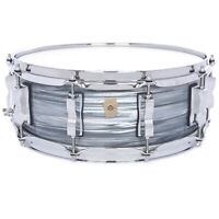 Ludwig 5x14 Classic Maple Snare Drum Vintage Blue Oyster