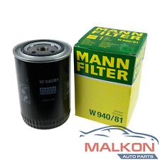 GENUINE MANN OIL FILTER W940/81 FOR FORD FAIRLANE FALCON BA TERRITORY REF: Z9