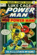 LUKE CAGE, POWER MAN # 21 (Ron Wilson) (États-Unis, 1974)