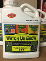 Liquid Plant Food Fertilizer Hydroponic grow 8-8-8 with micro nutrients USA Made