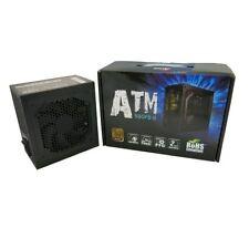 ATNG 550W Black Edition 80+ Bronze ATX Single Rail Power Supply, CE-Retail