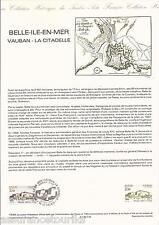 DOCUMENT PHILATÉLIQUE - VAUBAN - 1er JOUR 1984