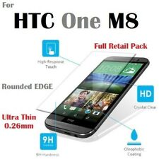 Tempered Glass Film Screen Protector for HTC One M8 With Retail Packaging - AU