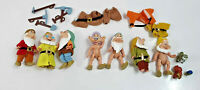 Disney 7 Dwarves figurines and accessories, tools and animals by simba