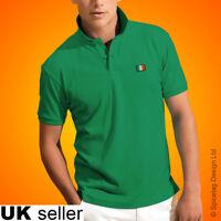Ireland Polo Shirt Football World Cup Tshirt Flag Soccer Irish Top Kit 2018 New