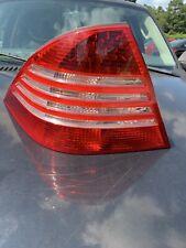 03 04 05 06 MERCEDES S430 S500 S55 S600 DRIVER LEFT SIDE TAIL LIGHT LAMP OEM