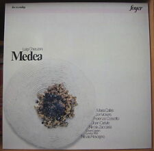 MARIA CALLAS/CHERUBINI/MEDEA COFFRET 3LP's  ITALY PRESS FOYER 1979