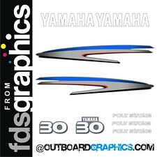 Yamaha 30hp four stroke outboard engine decals/sticker kit