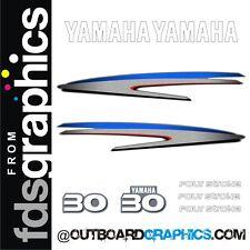 YAMAHA 30HP quatre mouvement hors-bord moteur Décalques / Autocollant kit