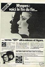 Publicité advertising 1978 Opticiens les Lunettes Atol