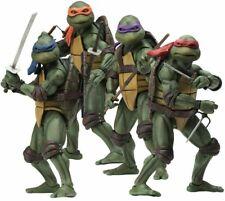 NECA TMNT 1990 movie ver. Teenage Mutant Ninja Turtles Set Completo 4 Figures