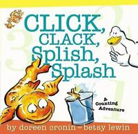 Click, Clack, Splish, Splash by Cronin, Doreen