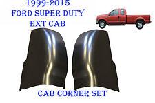 1999 2015 Ford Super Duty Extended Cab Corner Set, Super Cab, 4 door Truck PAIR
